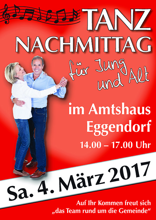 Plakat Tanznachmittag