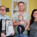 Denise, Patrick und Baby Lukas Schöller