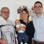 Babygratulation Lukas Mitter
