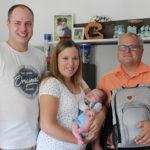 Babygratulation Daniel Lechner